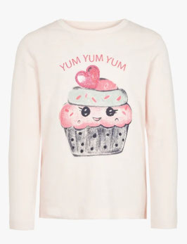 Shirt - Yum Yum Shirt berly pink - NAME IT MINI MÄDCHEN