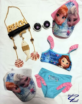 Bademode - Bikini - Princess Sofia - aqua -rosa