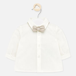Hemd - Babyhemd ivory  inkl. gratis Fliege - Taufe - Festmode - Mayoral