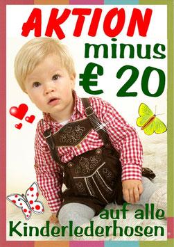 Kinderlederhose  minus 20 € AKTION