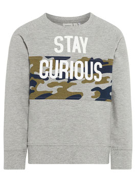 Shirt - Sweater camouflage grau - NAME IT MINI JUNGEN