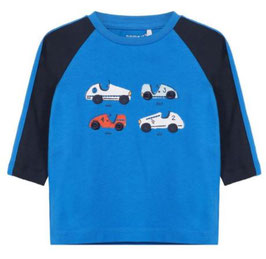 Baby Shirt mit Automotive blau - NAME IT BABY JUNGEN