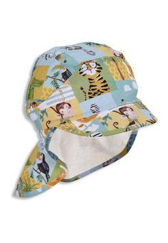 Kopfbedeckung - UV Schutz -  Kapperl - bunt - Tiermotive - Sterntaler