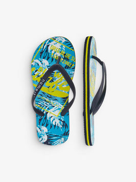 Flip Flop Surfing - blau - gelb - NAME IT KIDS JUNGEN