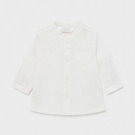 Hemd - Babyhemd - langarm oder kurzarm in einem  - creme - Stehkragen -  Mayoral - TAUFE - FESTMODE
