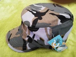 Kopfbedeckung - Camouflage Kappe - Army für die coolen Kids