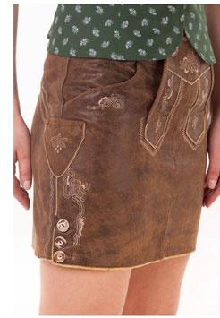 Rock - Tracht - Hosentürlrock in walnuß - Tracht Damen