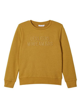 "Shirt - Sweater ""LESS EGOS MORE AMIGOS"" - NAME IT KIDS JUNGEN"