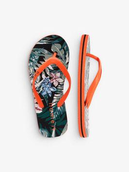 Schuhe - Flip Flop mit oranger Sohle - NAME IT KIDS MÄDCHEN
