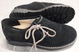 Schuhe - Tracht - Herren - Haferlschuh Herren Rauhleder schwarz - Herrentracht