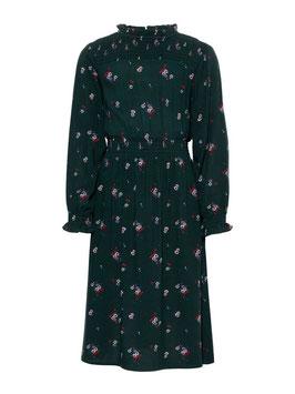 Blumenprint Kleid grün