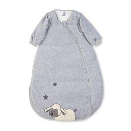 Schlafsack Stanley 90 cm grau - 4 Jahreszeiten Schlafsack - Sterntaler
