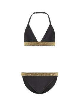 Bademode - Bikini triangel in schwarz - NAME IT KIDS MÄDCHEN