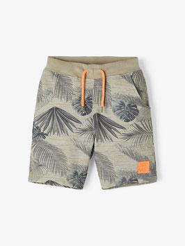 Short - braun/orange - Surf Vibes - NAME IT MINI JUNGE