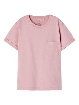 Shirt - rosa - basic - Biobaumwolle - NAME IT KIDS MÄDCHEN