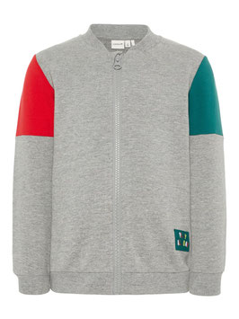 Sweatjacke grau -Aktion - NAME IT MINI JUNGEN