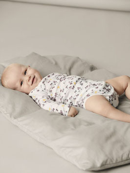 Body - Aktion - BABY 3ER-PACK BODY weiß  mit Blumen - AKTION - NAME IT BABY MÄDCHEN