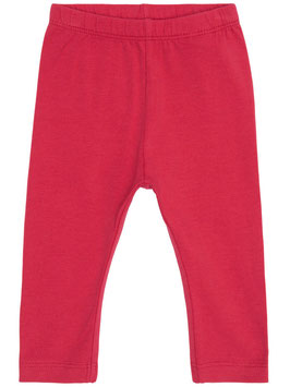 Leggings - Baby Legging rot - NAME IT BABY MÄDCHEN