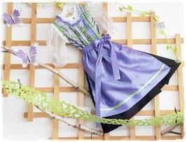 Tracht - Kinderdirndl lila - grün - krao - Tracht Mädchen