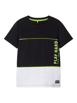 Shirt - PLAY HARD - NAME IT KIDS JUNGEN