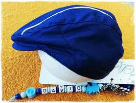 Kopfbedeckung - Taufmütze - Schiber - Mayoral blau - TAUFE - FESTMODE