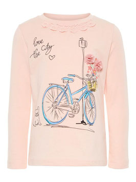 Shirt - Shirt Rad - rosa - NAME IT MINI MÄDCHEN