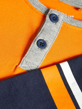 Shirt - orange - NAME IT MINI JUNGEN