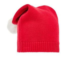 Baby Strick Weihnachtsmütze rot - NAME IT BABY JUNGEN