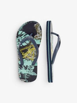 Schuhe - Flip Flop Surfing mint - NAME IT KIDS JUNGEN