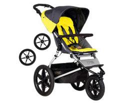 Kinderwagen - Mountain Buggy Terrain Solus inkl. Handbremse