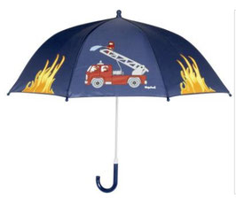Regenschirm - Feuerwehr - marine