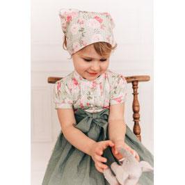 Kopfbedeckung - Trachten - Kopftuch oder Halstuch - Rosenhorn - Tracht Mädchen