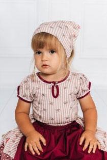 Kopfbedeckung - Trachten - Kopftuch Biedermeier - Tracht Mädchen