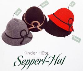 Kopfbedeckung - Trachten - Hut - Sepperlhut