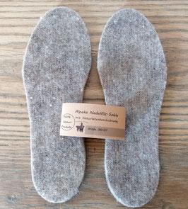 Schuh Einlegesohlen Alpaka-Nadelfilz