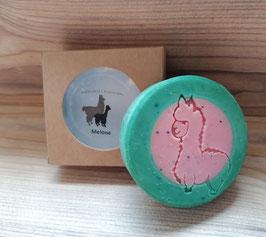 Alpaka-Keratin Seife - Melone