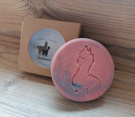 Alpaka-Keratin Seife - Waldbeere