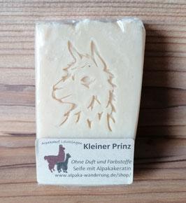 """Alpaka-Keratin Handseife """"Kleiner Prinz"""" - Ohne Duft und Farbstoffe"""