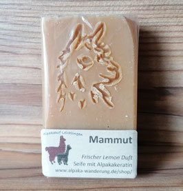 "Alpaka-Keratin Handseife ""Mammut"" - Lemonen Duft"