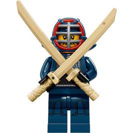 LEGO 71011 MINIFIGURA SERIE 15 Nº 12 LUCHADOR KENDO