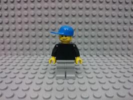 LEGO VARIOS MOD.S00.00.11 MINIFIGURA TORSO NEGRO I
