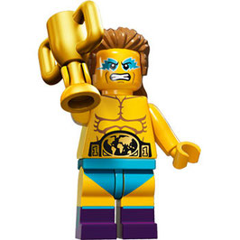 LEGO 71011 MINIFIGURA SERIE 15 Nº 14 LUCHADOR WRESTLING