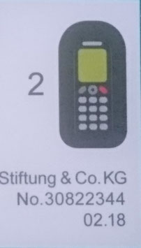 PLAY.G17.A5682.2344 PEGATINA TELEFONO