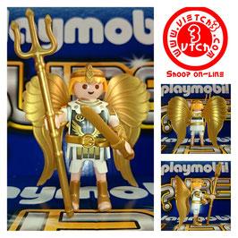 PLAYMOBIL GUERRERO ANGEL CON TRIDENTE Y ESPADA MOD.5537-01-TP13