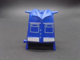 PLAY.T01.A1399.6529#CG26.B4 Torso Azul#07 Marino Hombreras c/ Pin Camisa c/ Bolsillos