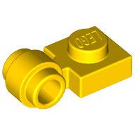 LEGO 4081 | 408124 PLACA 1X1 SOPORTE LAMPARA AMARILLO INTENSO