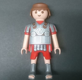 PLAY.FIG02.C3400.0003 FIGURA SOLDADO ROMANO ELITE LEON PELO MARRON