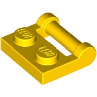 LEGO 48336 | 4501232 PLACA 1X2 C/ ASA AMARILLO INTENSO