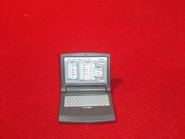 PLAYMOBIL MOD.CP16.0066.8702 * APARATO ORDENADOR PORTATIL PC ANTRACITA