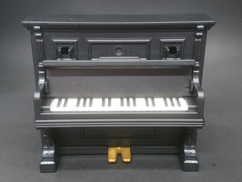 PLAY.GREY02.0099.6527 Instrumento Piano Antiguo Negro